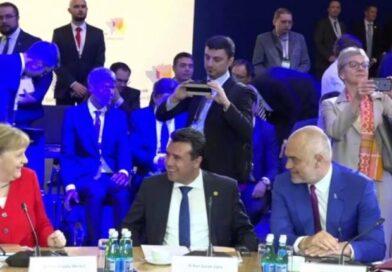 Zaev në Tiranë, do të takojë kancelaren Merkel